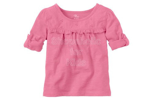 Children's Place Eyelet Top - Jasmine - Shopaholic for Kids