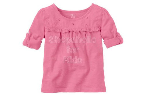 Children's Place Eyelet Top - Jasmine