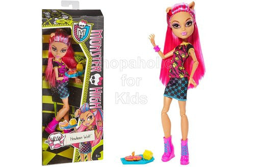 Monster High Creepateria Howleen Wolf Doll - Shopaholic for Kids