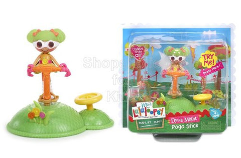 Mini Lalaloopsy Doll Ready, Set...Play!- Pogo Stick
