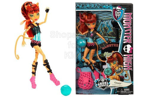 Monster High Ghoul Sports Toralei Doll - Shopaholic for Kids