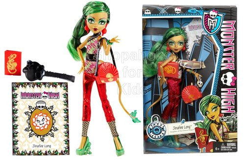 Monster High New Scaremester Jinafire Long Fashion Doll - Shopaholic for Kids