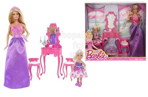 Barbie Getting Ready for the Ball: 2 Doll Gift Set - Barbie & Chelsea - Shopaholic for Kids