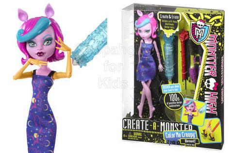 Monster High Create-A-Monster Color Me Creepy Werewolf Starter Pack