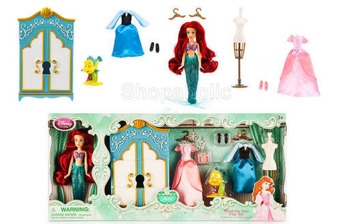 Disney Princess Ariel Wardrobe Doll Play Set