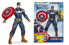 Captain America Shield Storm Action Figure - 10'' - Shopaholic for Kids