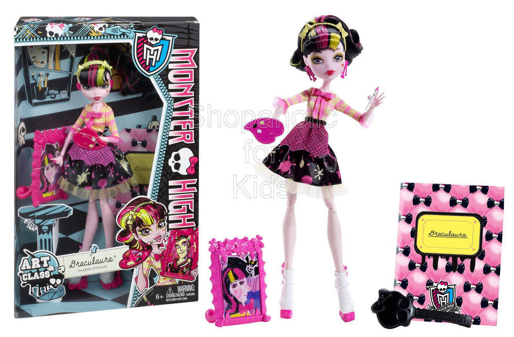 Monster High Art Class Draculaura Doll - Shopaholic for Kids