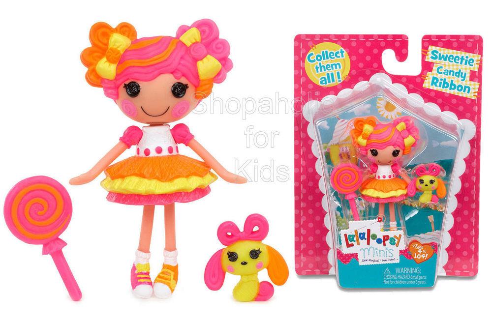 Mini Lalaloopsy Doll - Sweetie Candy Ribbon - Shopaholic for Kids