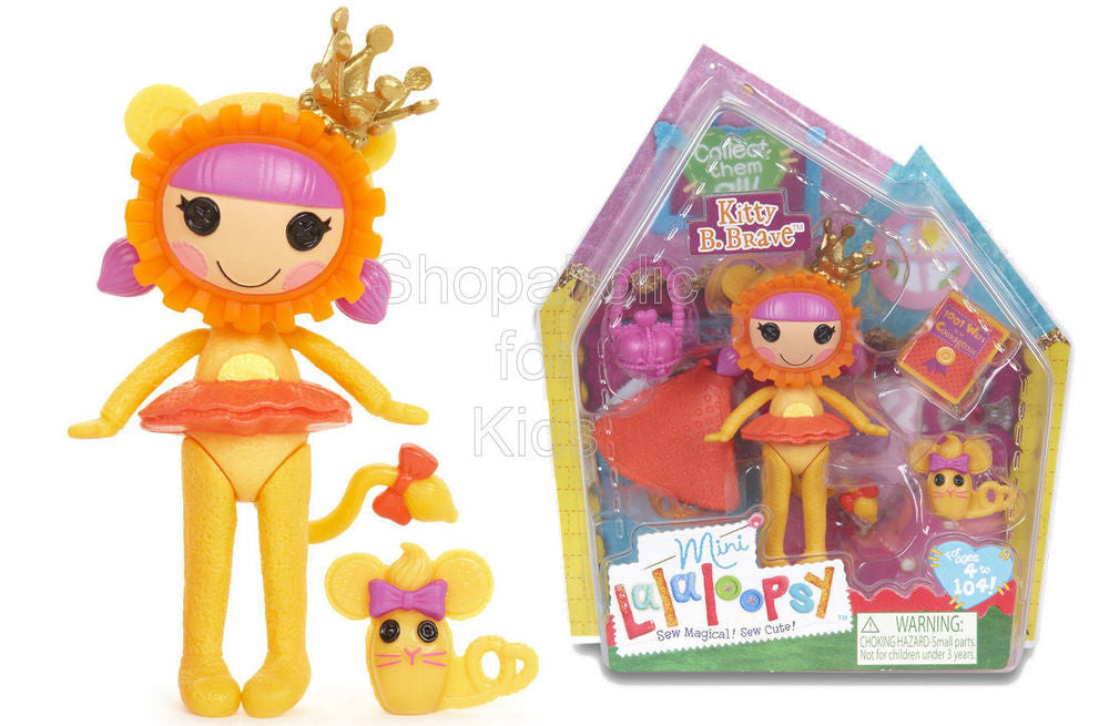 Mini Lalaloopsy Doll - Kitty B. Brave - Shopaholic for Kids