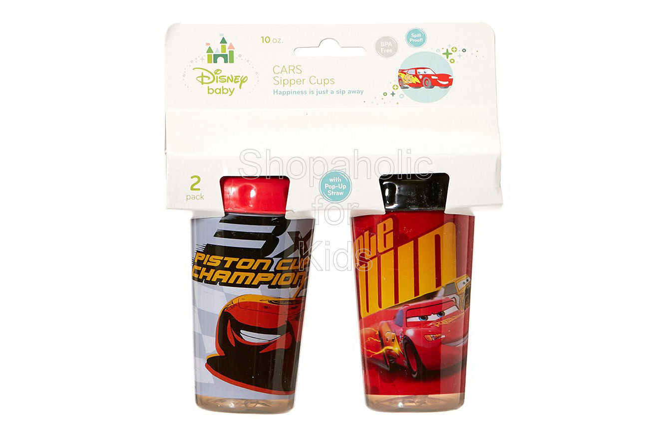 Disney Cars Sippy Cups - 2-Pack - Shopaholic for Kids