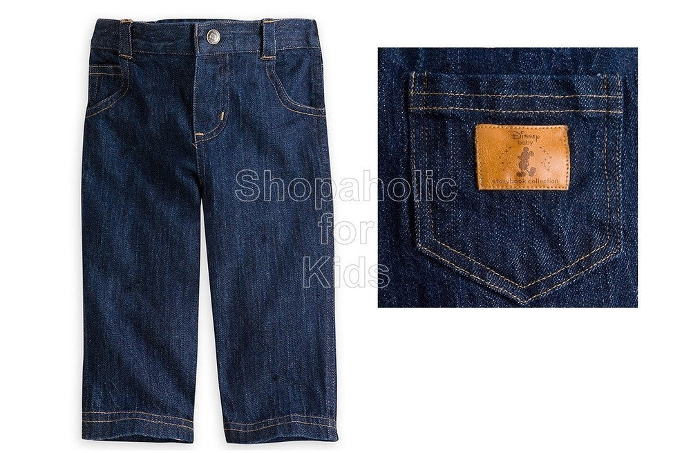 Disney Mickey Mouse Denim Pants / Jeans - Shopaholic for Kids