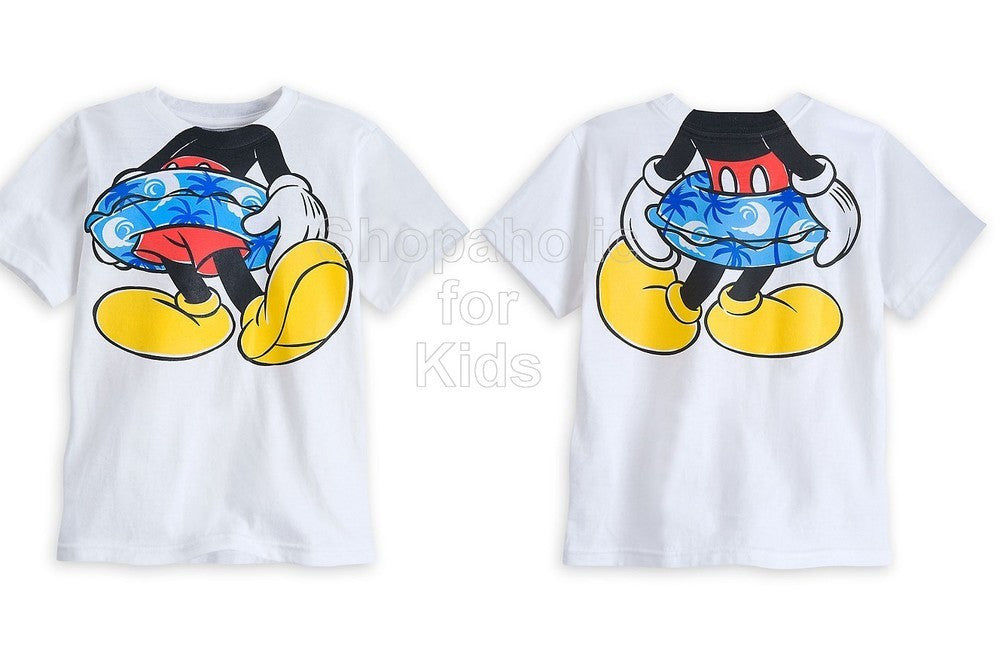 Disney Mickey Mouse Summer Tee - Shopaholic for Kids
