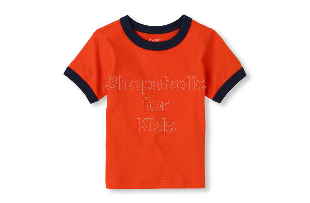 Children's Place Basic Tee Orangefuse - Shopaholic for Kids
