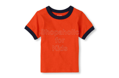 Children's Place Basic Tee Orangefuse
