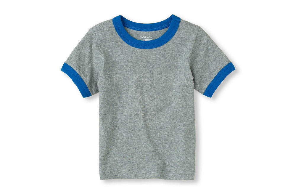 Children's Place Basic Tee H/T Grey - Shopaholic for Kids