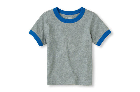 Children's Place Basic Tee H/T Grey