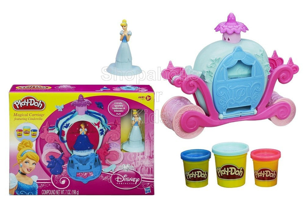 Play-Doh Magical Carriage Featuring Disney Princess Cinderella - Shopaholic for Kids