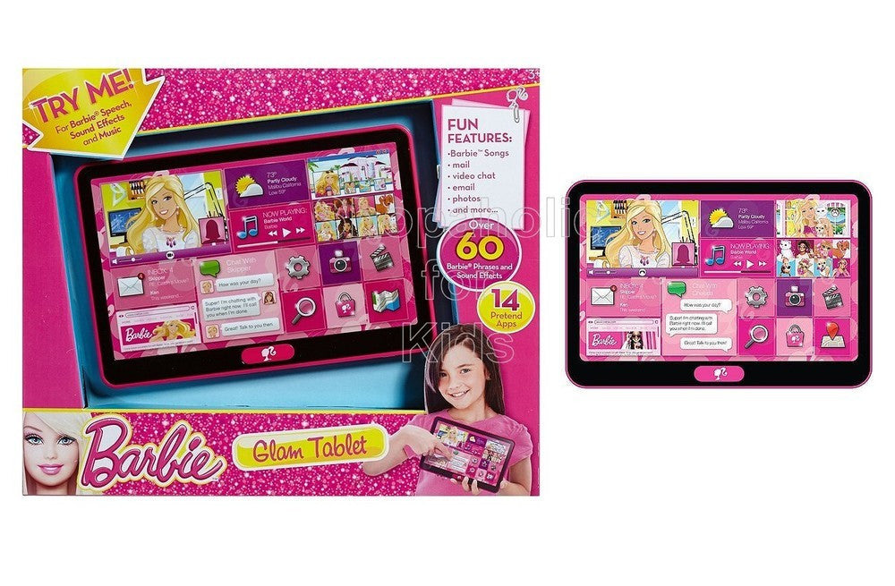 Barbie Glam Tablet - Shopaholic for Kids