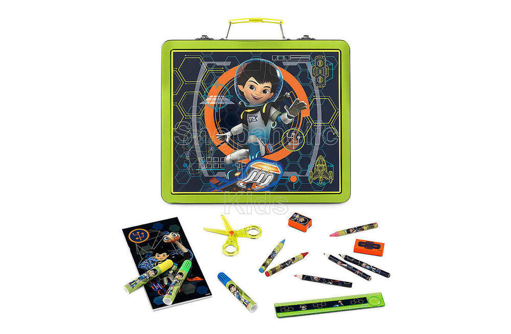 Disney Miles from Tomorrowland Tin Art Case Set - Shopaholic for Kids