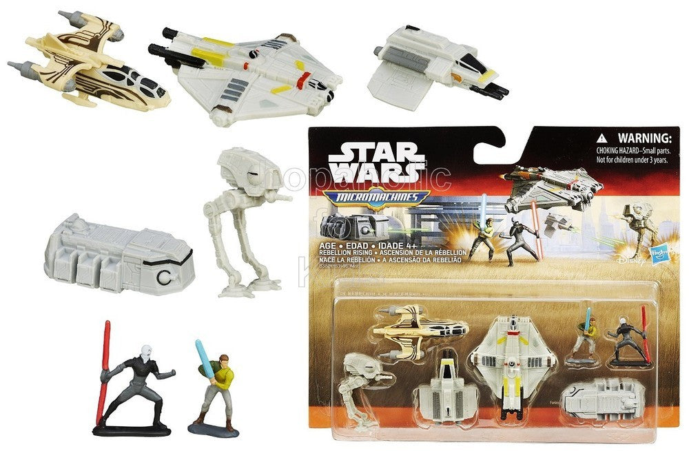 Star Wars Rebels Micro Machines Deluxe Vehicle Pack Rebellion Rising - Shopaholic for Kids