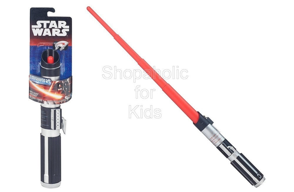 Star Wars A New Hope Darth Vader Extendable Lightsaber - Shopaholic for Kids