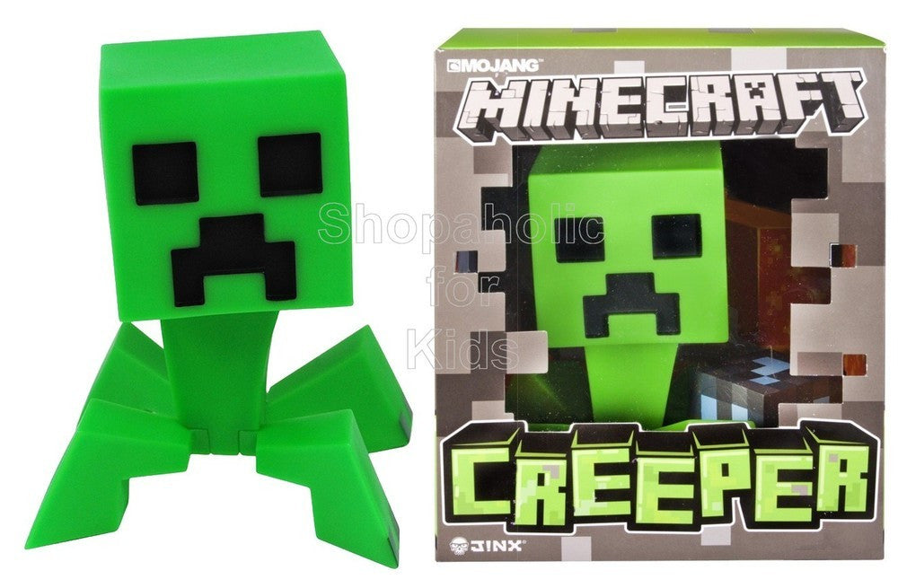 "Minecraft 6"" Vinyl Creeper Figure - Shopaholic for Kids"