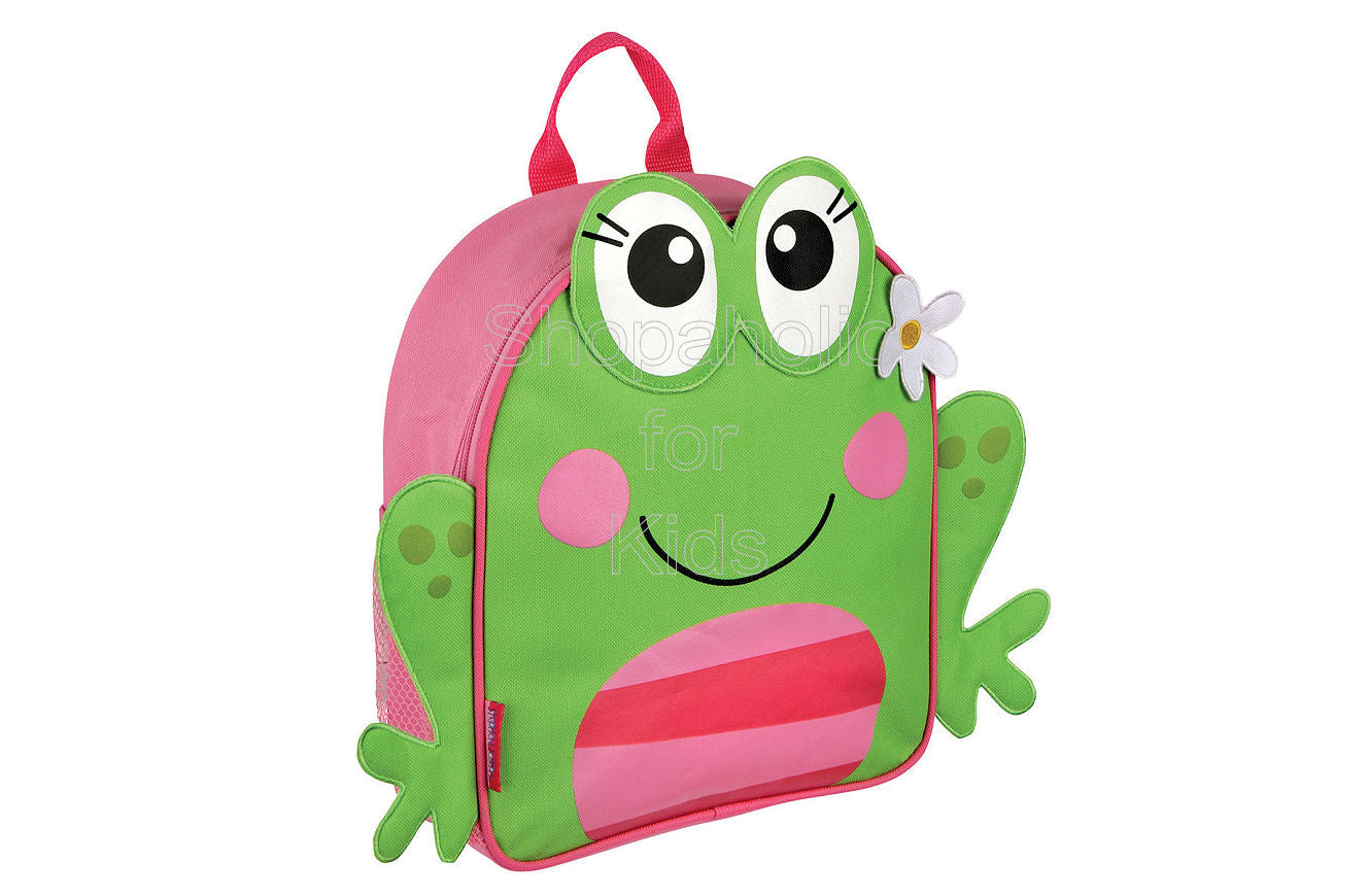 Stephen Joseph Mini Sidekick Backpack - Frog