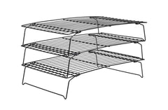 Delish Treats 3 Tier Cooling Rack (Black) - Shopaholic for Kids