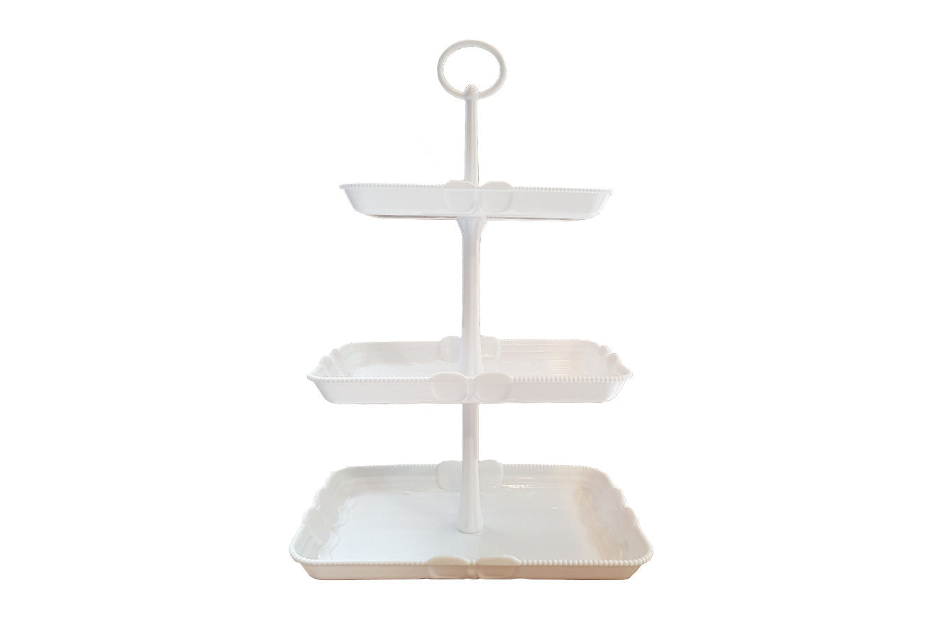 Delish Treats 3 Tier Rectangular Cupcake Stand - Shopaholic for Kids