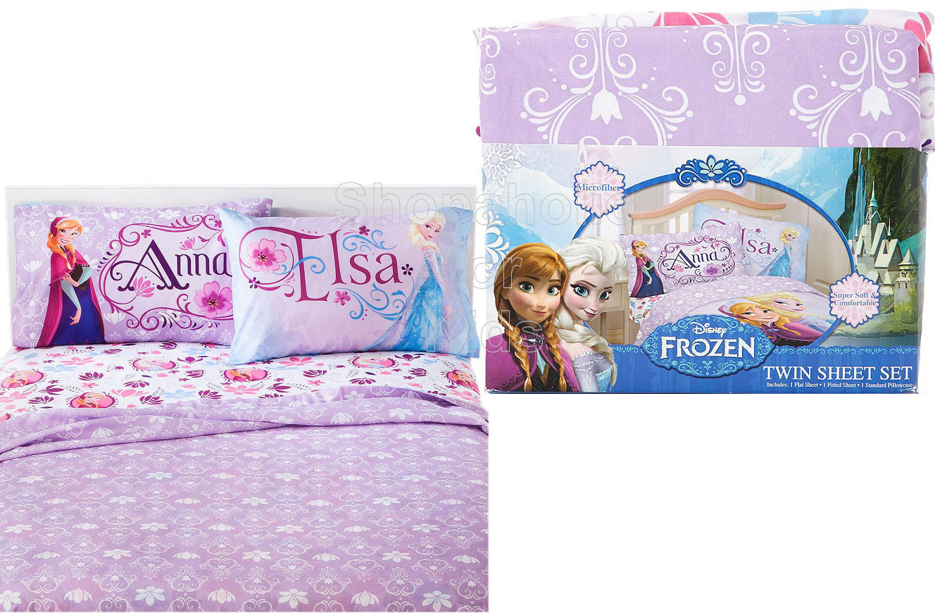 3pc- Disney Frozen Sheet Set- Twin - Shopaholic for Kids
