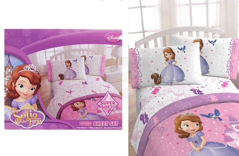 3pc Sofia The First Sheet Set - Twin