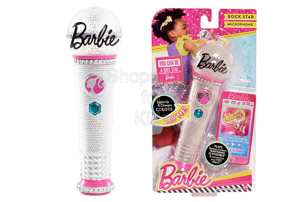 Barbie Rock Star Microphone - Shopaholic for Kids