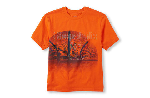 Children's Place Basketball Matchables Short Sleeve Graphic Tee