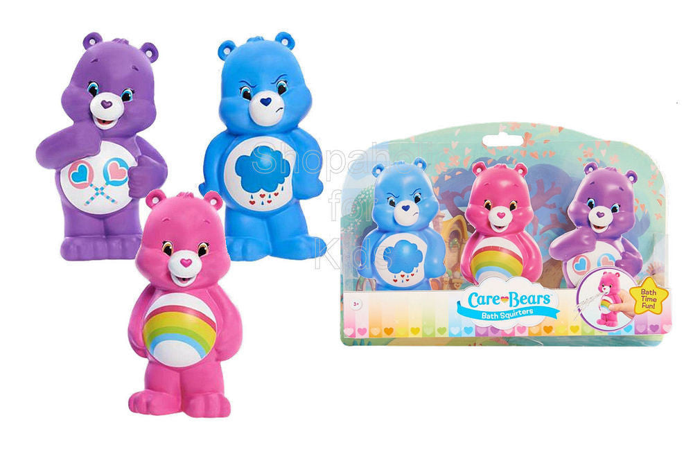 Care Bears Bath Squirter - Set of 3pcs - Shopaholic for Kids