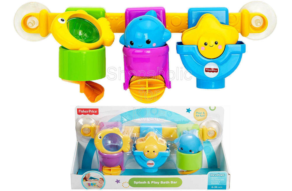 Fisher-Price Splash & Play Bath Bar - Shopaholic for Kids