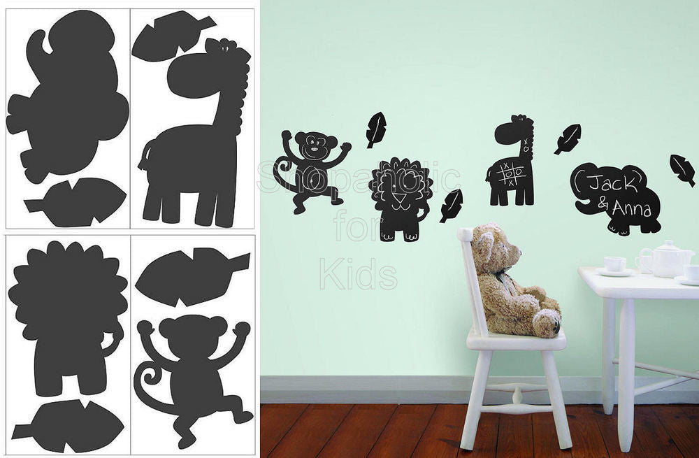 Koala Baby Jungle Animal Chalkboard Wall Decals - Shopaholic for Kids