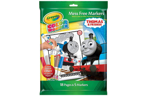 Crayola Color Wonder Thomas and Friends Coloring Pad and Markers