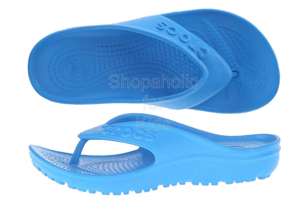 Crocs Hilo Flip-Flop Sandal Ocean - Shopaholic for Kids