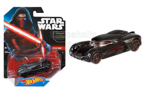 Hot Wheels Star Wars: The Force Awakens Kylo Ren Character Car
