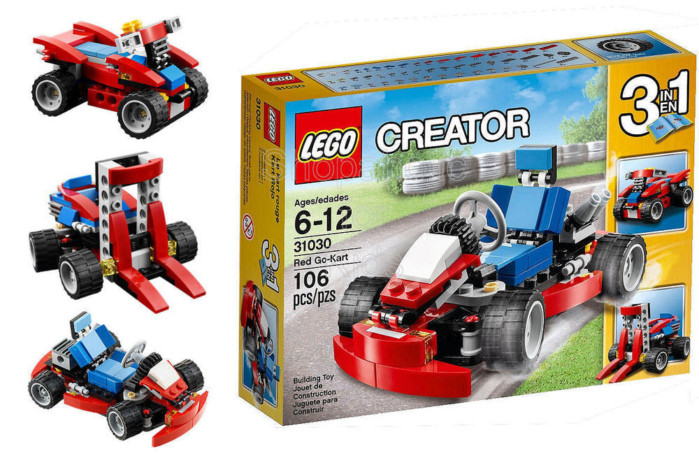 Lego Creator Red Go-Kart - Shopaholic for Kids