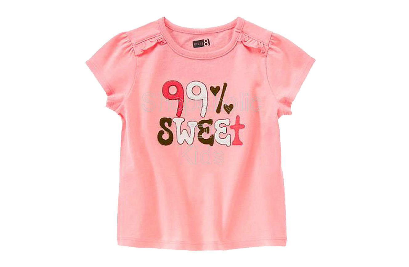 Crazy8 99% Sweet Tee - Shopaholic for Kids