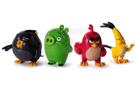 Angry Birds Collectible Starter Set - Pack of 4