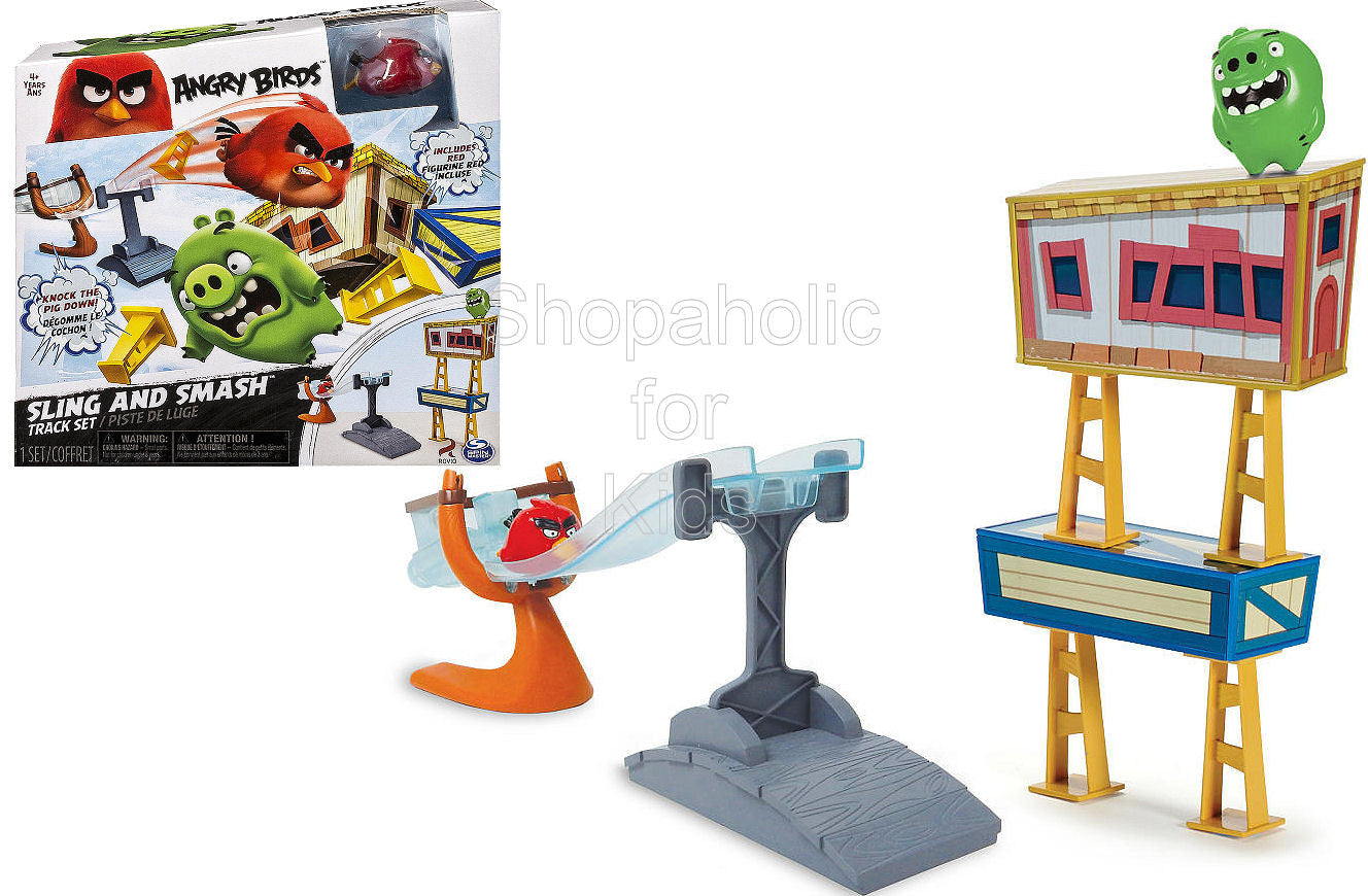 Angry Birds Sling and Smash Track Set - Shopaholic for Kids