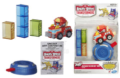 Angry Birds Transformers Jenga Heatwave the Fire-Bot Bird Game - Shopaholic for Kids