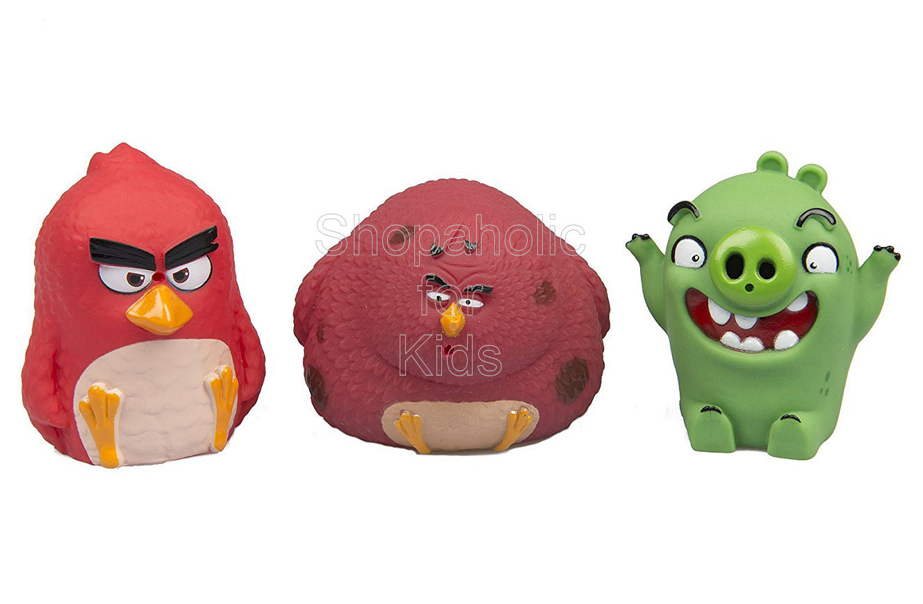 Angry Birds Water Squirters - 3-pack (Red, Pig, Terence) - Shopaholic for Kids