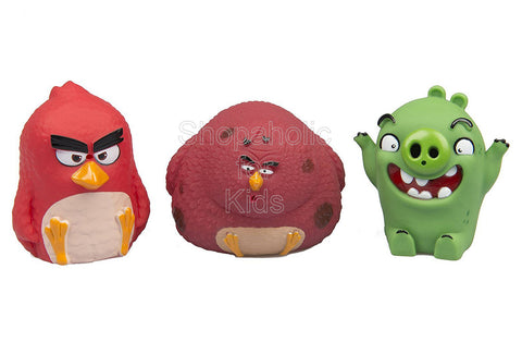 Angry Birds Water Squirters - 3-pack (Red, Pig, Terence)