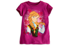 Anna Tee for Girls - Frozen - Shopaholic for Kids