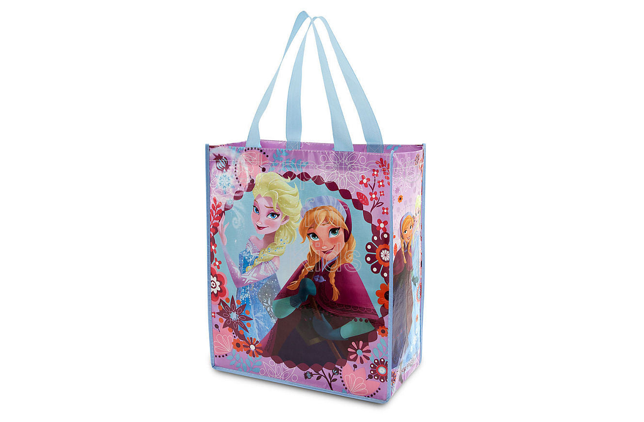 Disney Frozen Anna and Elsa Reusable Tote - Shopaholic for Kids