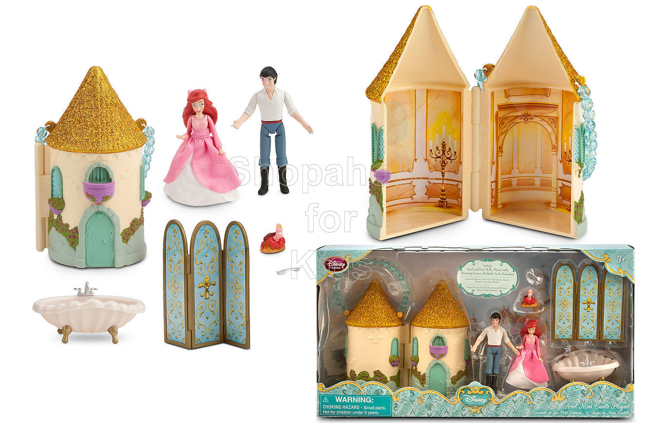 Disney Princess  Ariel Mini Castle Play Set - Shopaholic for Kids