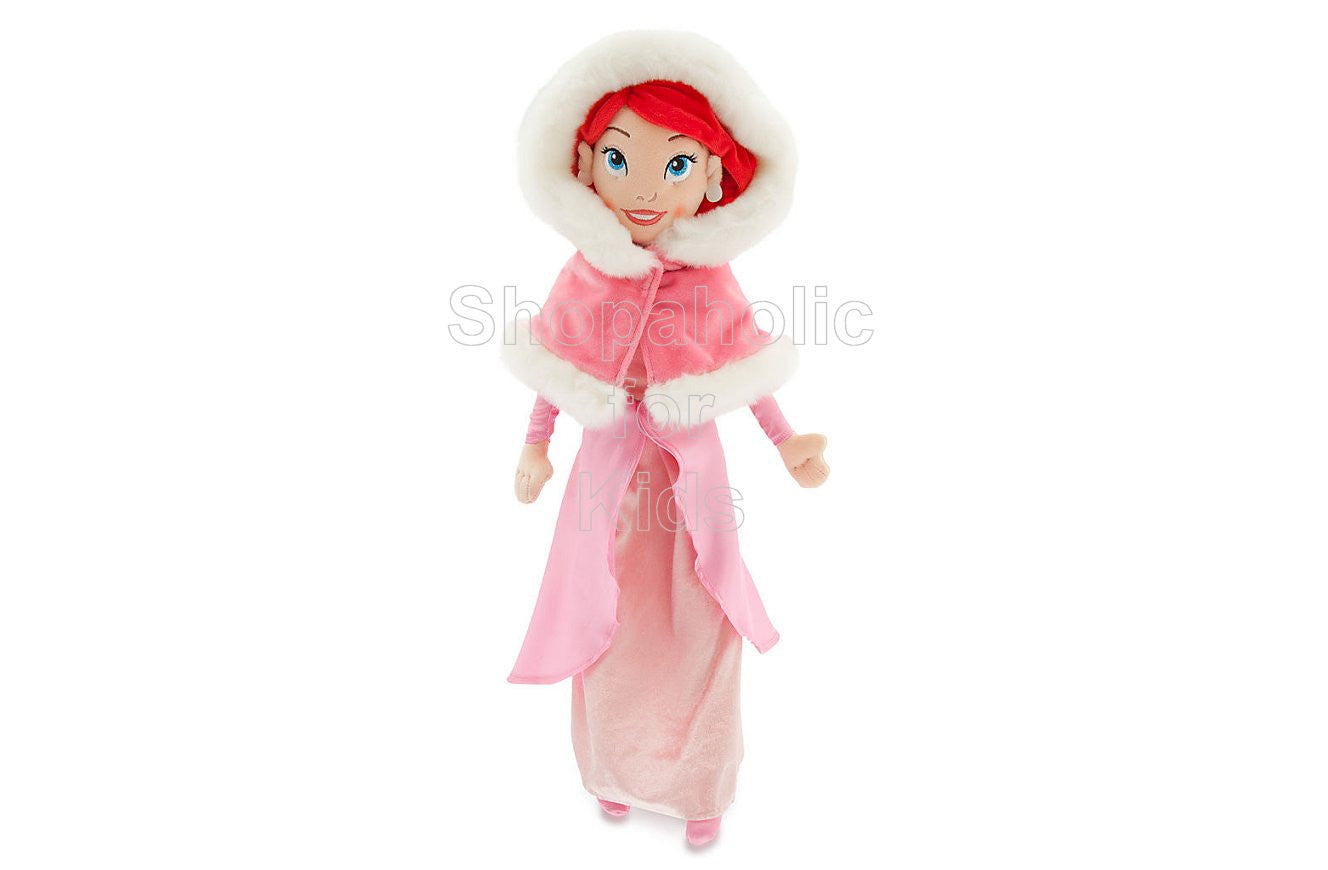 Disney Princess Ariel Plush Doll - The Little Mermaid - 21'' - Holiday  (Limited Edition) - Shopaholic for Kids
